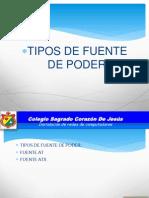 Diapositivas Tipos de Fuente