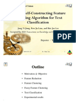 A Fuzzy Self Constructing Feature Clustering Algorithm for Text Classification