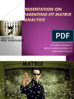 Presentation on Parenting-fit Matrix