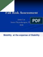 Fall Risk Assessment 081004