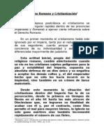 Material de derecho romano y cristianización. JBG. [Lección N°3].-