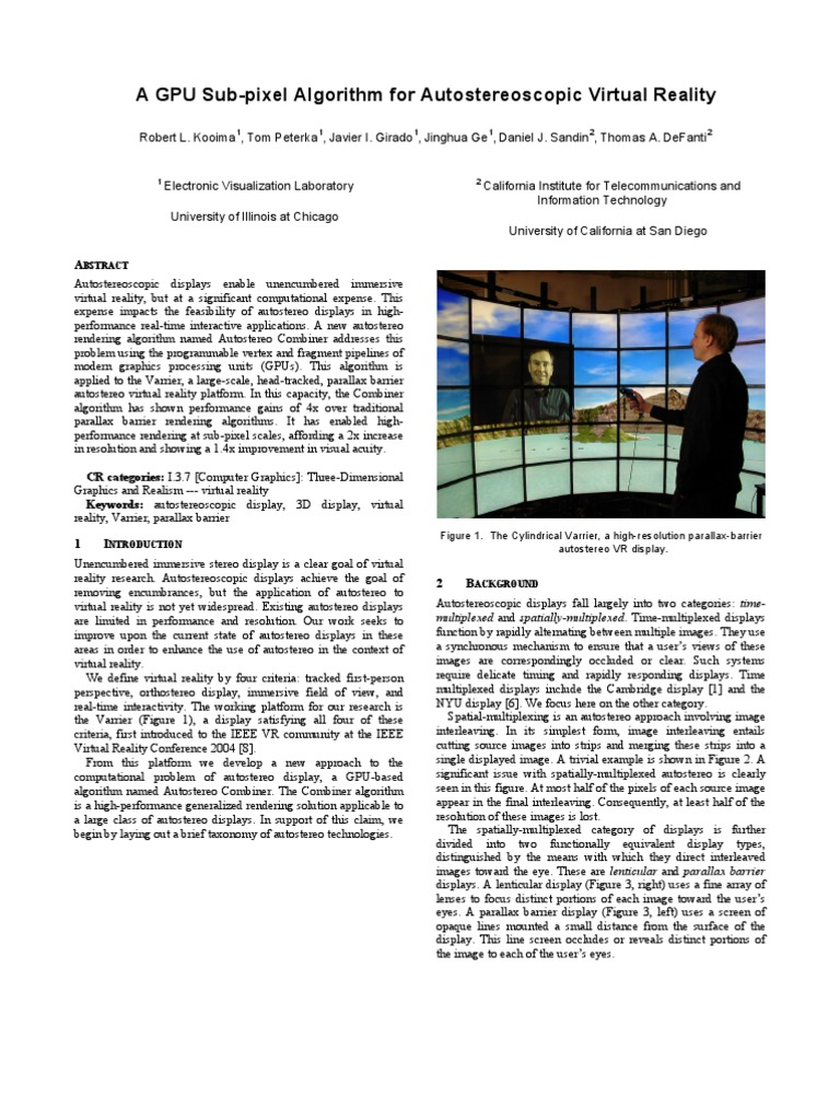 Kooima-VR07 | Shader | Rendering (Computer Graphics)