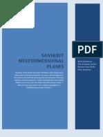 Sanskrit Multidimensional Planes