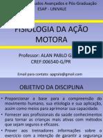 MATERIAL PARA ALUNOS FISIOLOGIA DA AÇÃO MOTORA - 2012