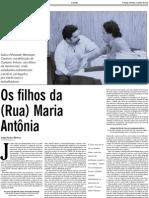 """Dona Mora, Lula, Jarbas e a barata voadora"""
