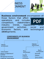 Changing Dimensions of Business Environment
