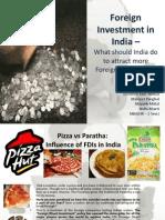 Kaushik Sir- Foreign Investment