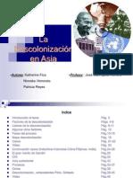 Descolonizacion en ASIA