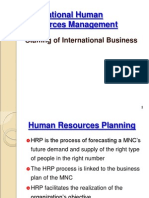 Staffing of International Businesses