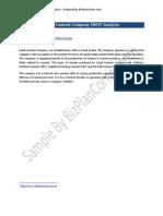 Saudi Cement Company SWOT Analysis