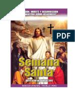 Programación Por Semana Santa en Trujillo - Perú  2012