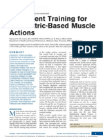 Implement Training for Concentric Based Muscle.1