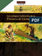 Los  antiguos habitantes de Llanquihue