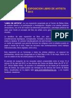 Bases++Expo.+Libro+de+Artista