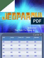 Jeopardy Power Point
