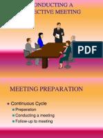 Efficient Meeting PPT