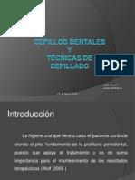 Cepillos Dentales y Técnicas de Cepillado