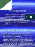 Prolapsul Rectal