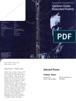 Holan, Vladimir - Selected Poems