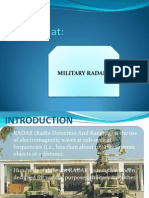 Slides on Military Radars