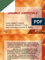 Anemia Fierodeficitara