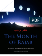 En the Month of Rajab