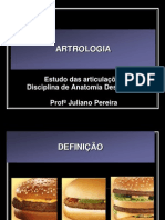 Artrologia Resumo