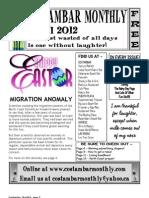 Costambar Monthly April 2012