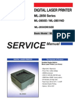 Samsung ML-2850 Series ML-2850D / ML-2851ND service manual