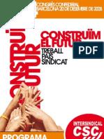4t Congrés Programa