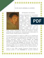 Biografia de Julio Jaramillo Laurido