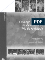 Catálogo de Clones de Variedades de Vid de Andalucía