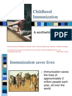 Case for Immunization