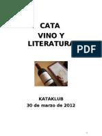 Cata. Vino y Literatura