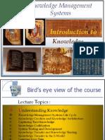 KM - Lecture 1