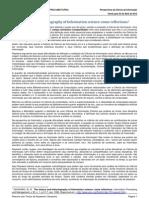 PPGCI - Perspectivas - Everton Lopes Bonifacio - Resumo Saracevic e Rayward 03Abr12 Versao Final