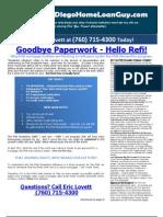 Goodbye Paperwork Hello Refi Article by Eric Lovett