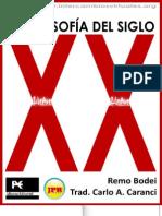 FilosofiaSigloXX-RemoBodei