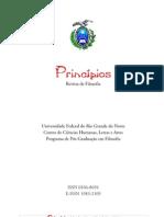 Revista Princípios, Vol. 18, número 30, 2011