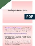 FIZIOLOGIJAR 6 Rastenje i Diferencijacija [Compatibility Mode]