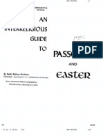 Inter Religious Guide to Passover