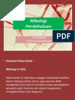 I. Mikologi-Pendahuluan