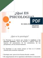 Que Es Psicologia