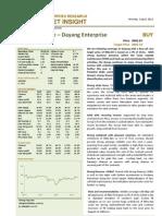 BIMBSec - Dayang Initial Coverage - 020412