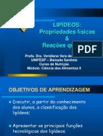 Lipídeos classificação e  estruturas - Aula I