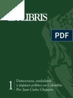Democracia Ciudadania y Regimen Politic - Juan Carlos Chaparro