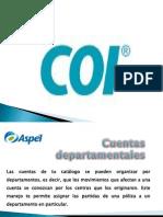Cuentas departamentales