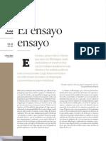 El ensayo ensayo, de Luigi Amara, Letras Libres, núm. 158, feb. 2012