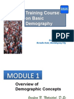 1- Overview of Demographic Concepts