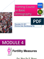 5- Fertility Measures